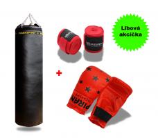 Boxovací pytel 35/100 + Boxerské rukavice Classic + Bandáž 2,5 m