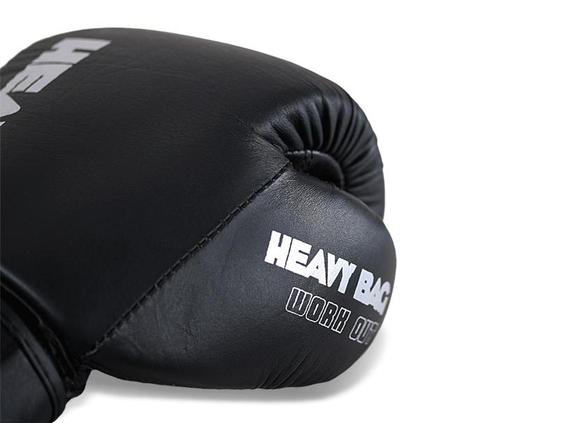Kvalitní celokožené rukavice v černo stříbrném provedení.