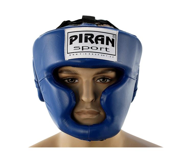 Boxerská helma PRO line s lícnicí - II. Jakost