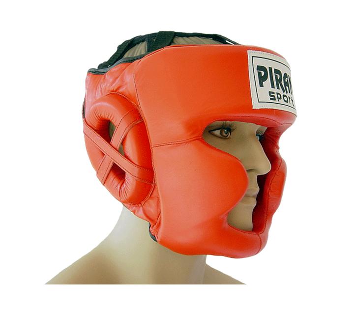 Boxerská helma PRO line s lícnicí