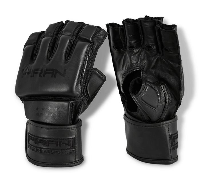"""Bezprsté boxerské rukavice Grappling PRO """"All Black"""""""