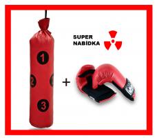 Boxovací pytel Junior - Targets R + Tréninkové Rukavice Profi