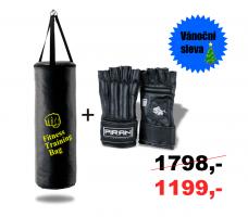 Boxovací pytel 26/70 + Boxerské rukavice Fighter PRO