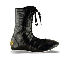 Boxerské boty kožené