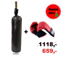 Boxovací pytel Junior + Tréninkové Rukavice Profi